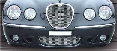hand woven lower mesh grill jaguar s type mesh grill. Black Bedroom Furniture Sets. Home Design Ideas