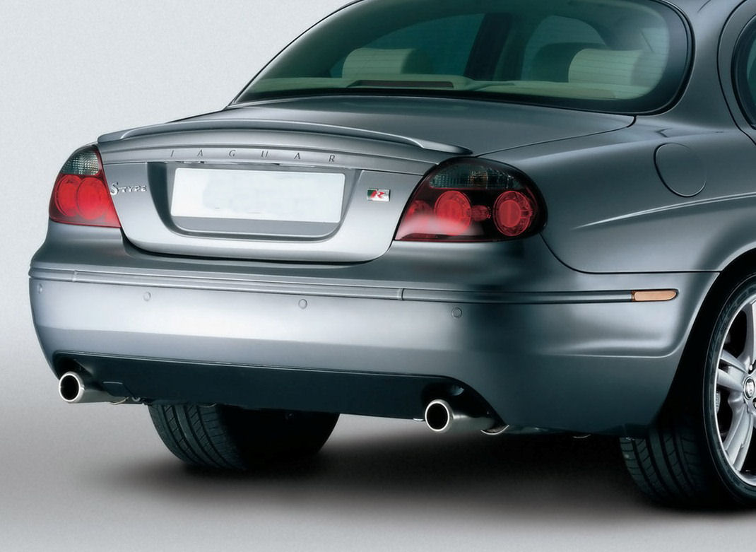 Jaguar S Type Related Imagesstart 400 Weili Automotive Network 2003 R Supercharged Boot Spoiler Later Style