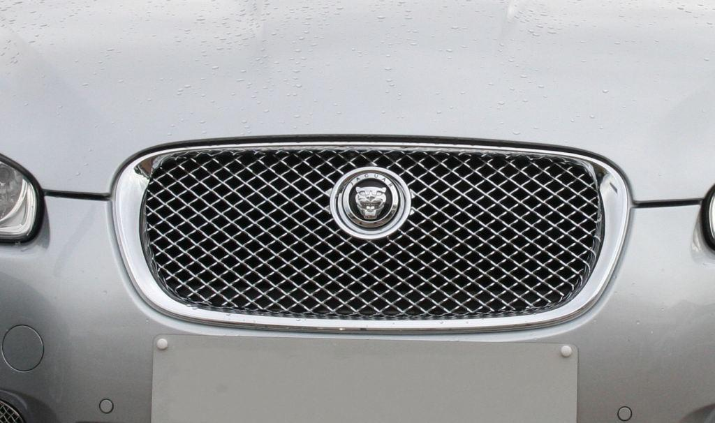 jaguar xf chrome grille jaguar xf body styling. Black Bedroom Furniture Sets. Home Design Ideas