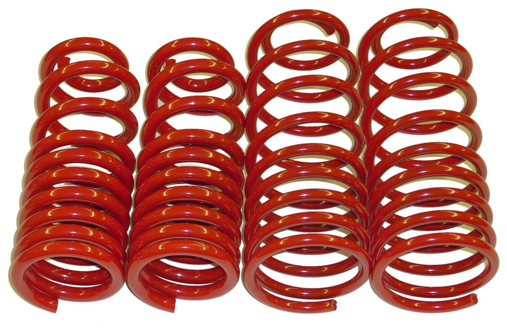 uprated amp lowered springs rear kit