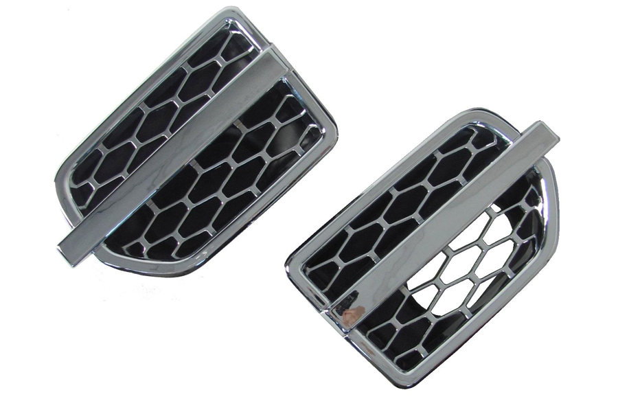 Discovery 4 Pair Of Side Vents - Chrome