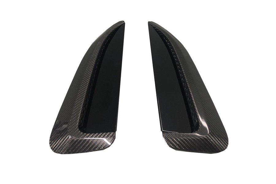 Jaguar F-Type Rear Wheel Drive Carbon Fibre Bonnet Vents