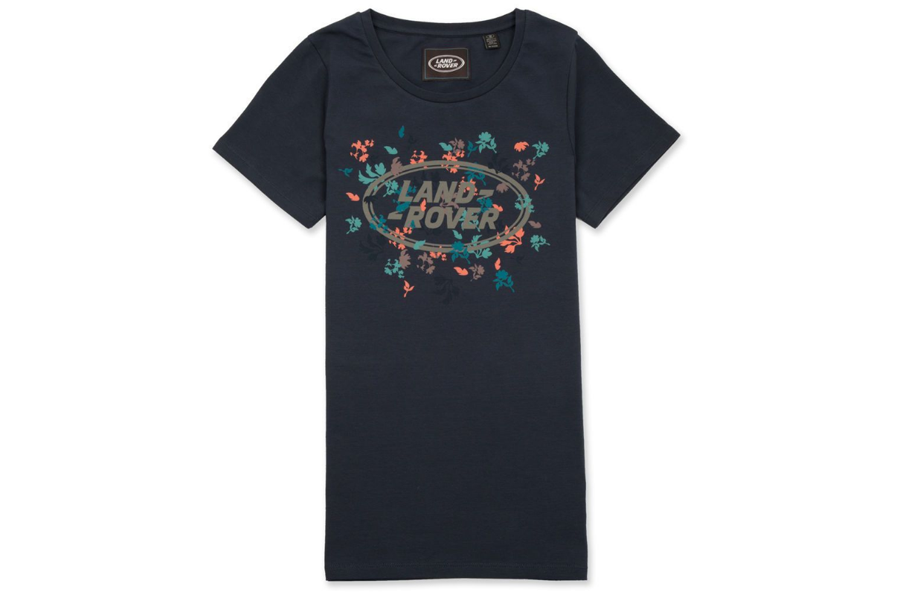 Land Rover Women's Graphic T-Shirt - Navy - Size 14